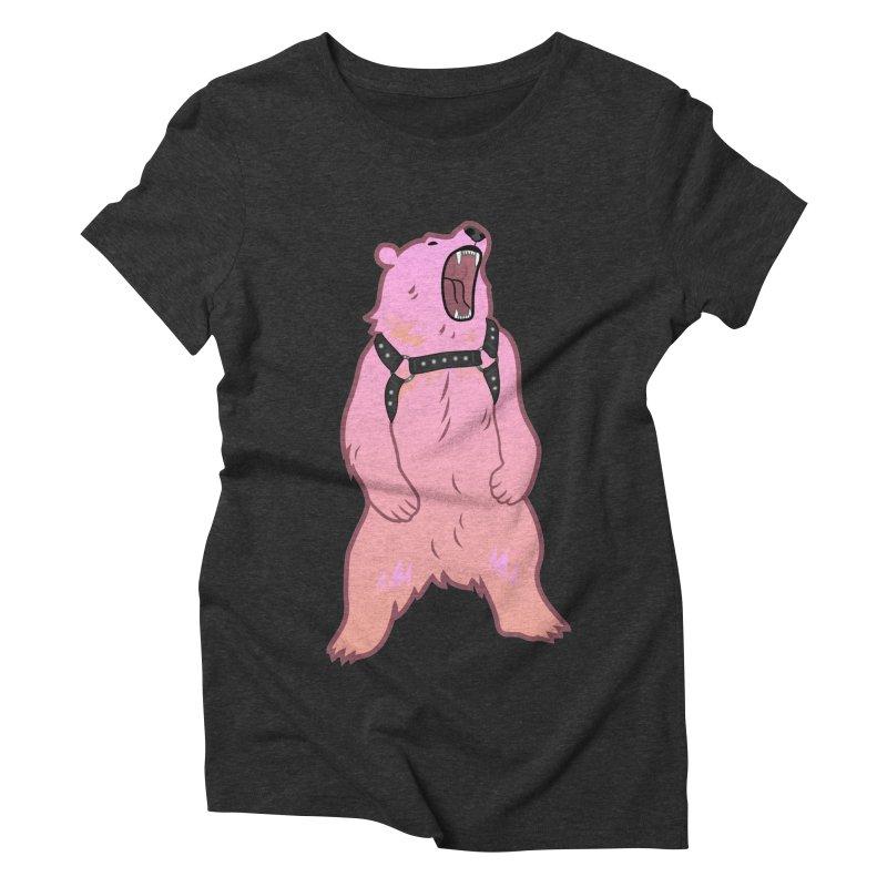 Daddy Bear Women's Triblend T-Shirt by Stephen Draws's Artist Shop