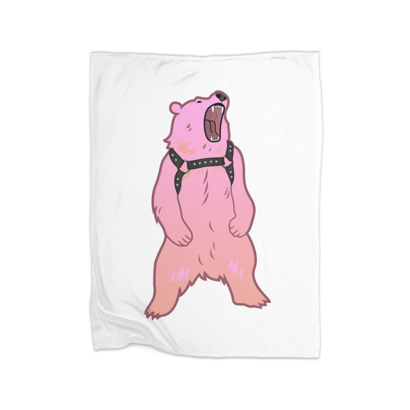 Daddy Bear Home Fleece Blanket Blanket by Stephen Draws's Artist Shop