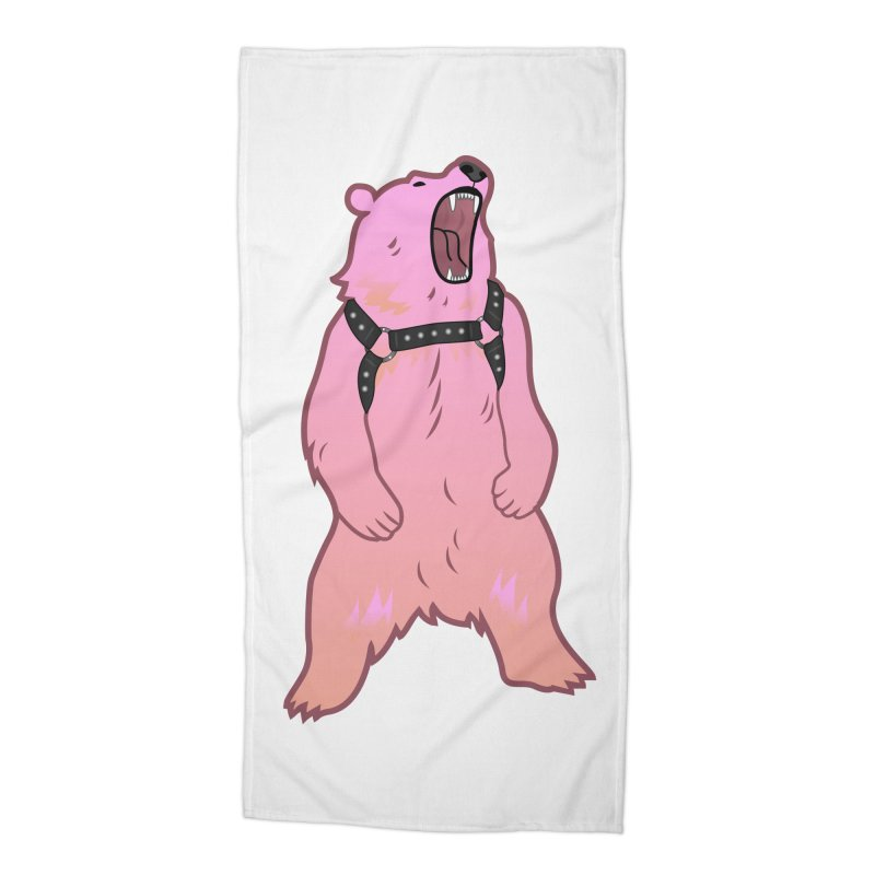Daddy Bear Accessories Beach Towel by Stephen Draws's Artist Shop
