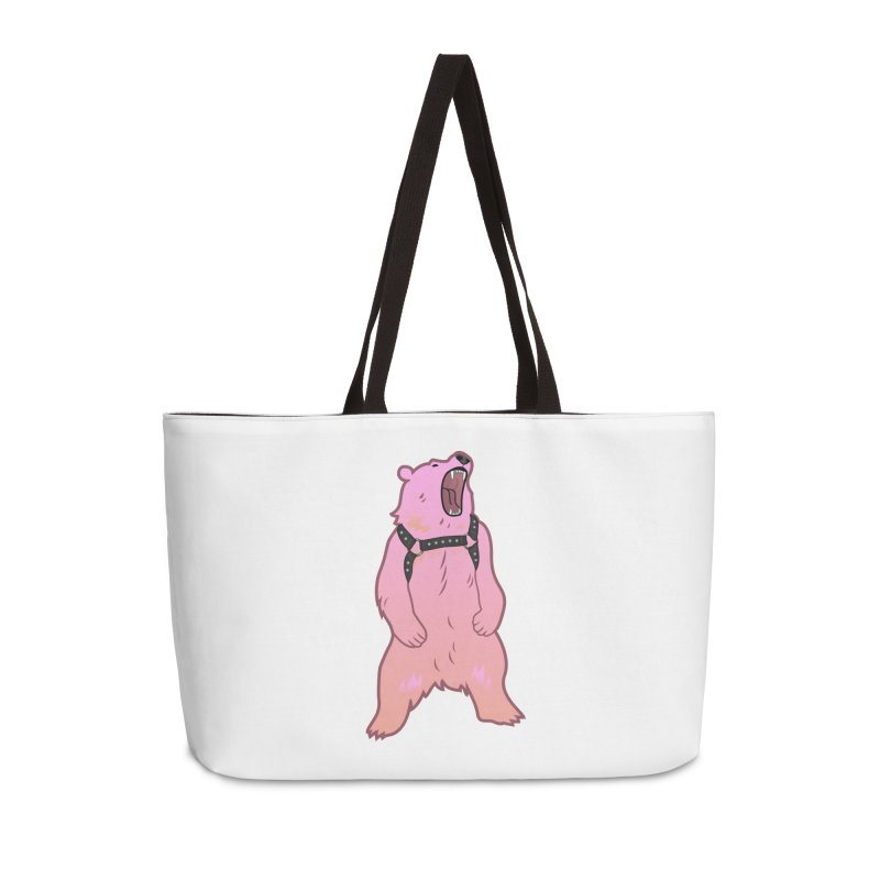 Daddy Bear Accessories Weekender Bag Bag by Stephen Draws's Artist Shop