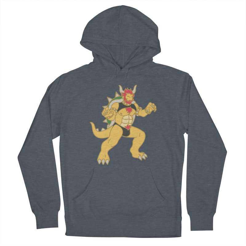 BOWSER Men's Pullover Hoody by Stephen Draws's Artist Shop