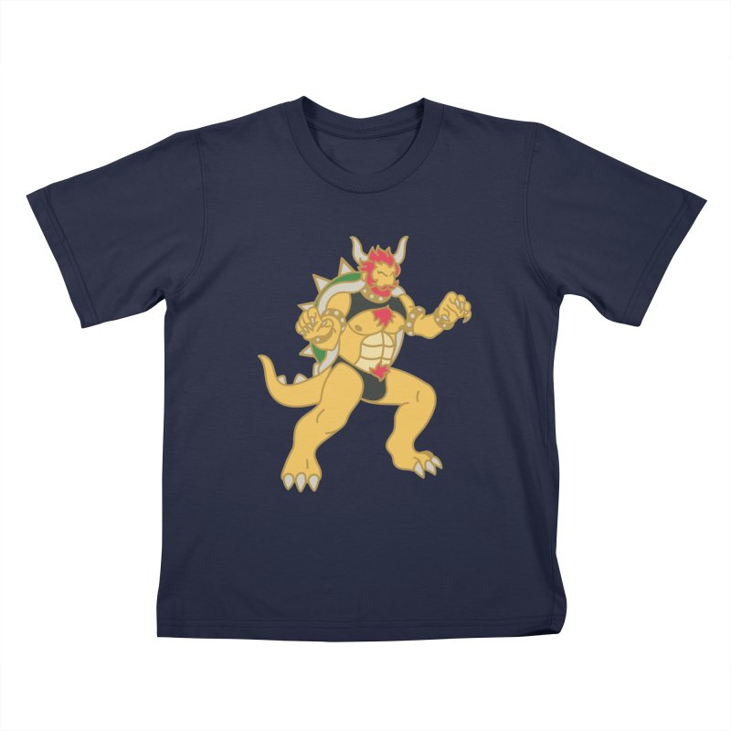 BOWSER Kids T-Shirt by Stephen Draws's Artist Shop