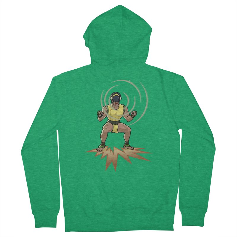 TOPH SOUNDS LIKE TOUGH Men's Zip-Up Hoody by Stephen Draws's Artist Shop