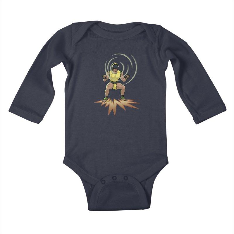 TOPH SOUNDS LIKE TOUGH Kids Baby Longsleeve Bodysuit by Stephen Draws's Artist Shop