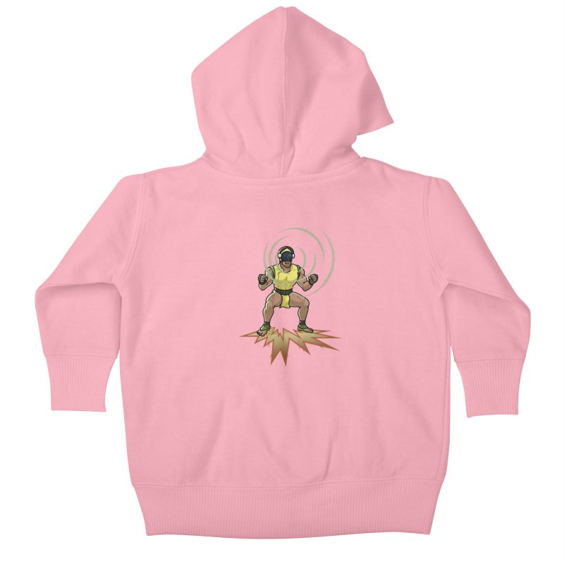 TOPH SOUNDS LIKE TOUGH Kids Baby Zip-Up Hoody by Stephen Draws's Artist Shop