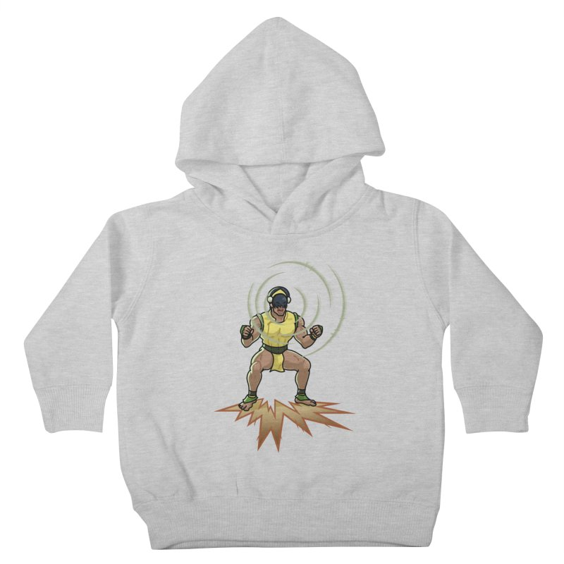 TOPH SOUNDS LIKE TOUGH Kids Toddler Pullover Hoody by Stephen Draws's Artist Shop