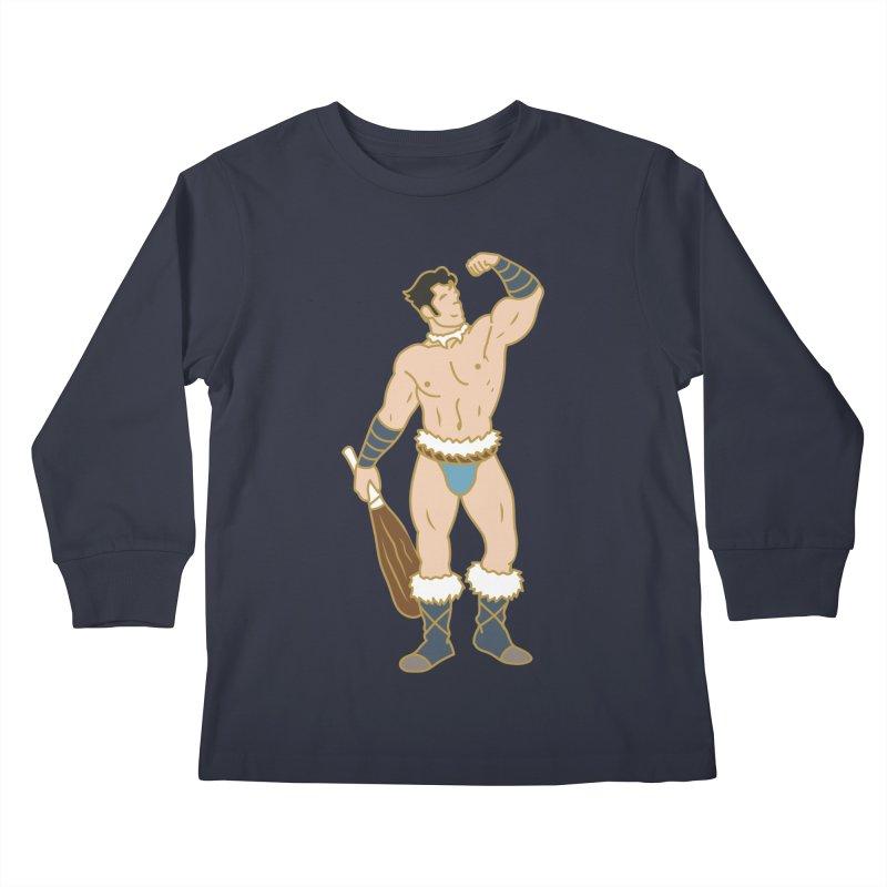 NUKTUK Kids Longsleeve T-Shirt by Stephen Draws's Artist Shop