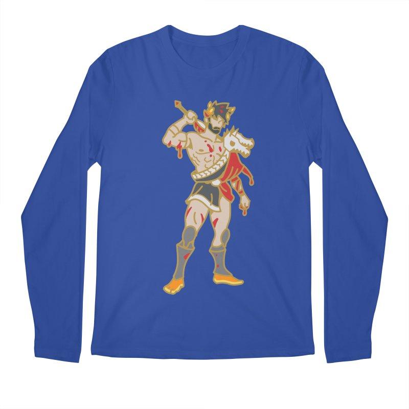 PRINCE ZAGREUS Men's Longsleeve T-Shirt by Stephen Draws's Artist Shop