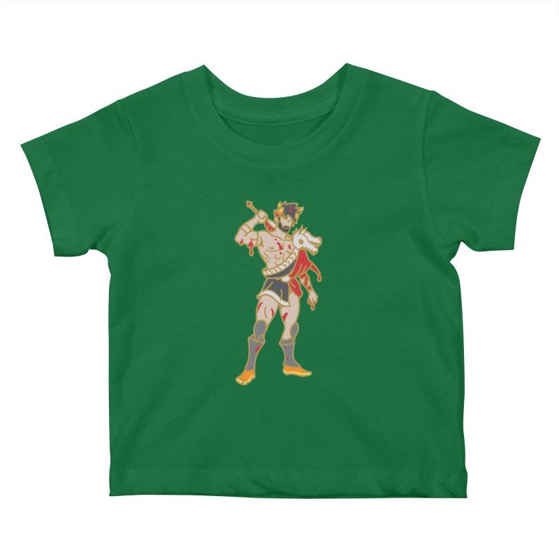 PRINCE ZAGREUS Kids Baby T-Shirt by Stephen Draws's Artist Shop