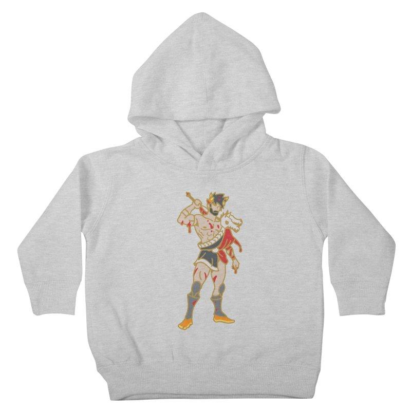 PRINCE ZAGREUS Kids Toddler Pullover Hoody by Stephen Draws's Artist Shop