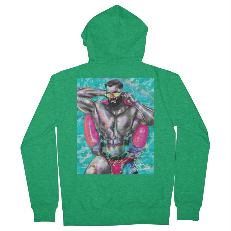 HOLOSSUS Men's Zip-Up Hoody by Stephen Draws's Artist Shop