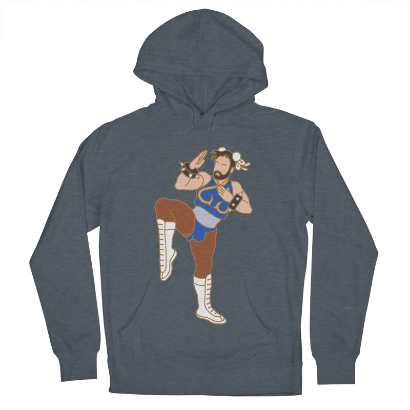 HUNG LI Men's French Terry Pullover Hoody by Stephen Draws's Artist Shop