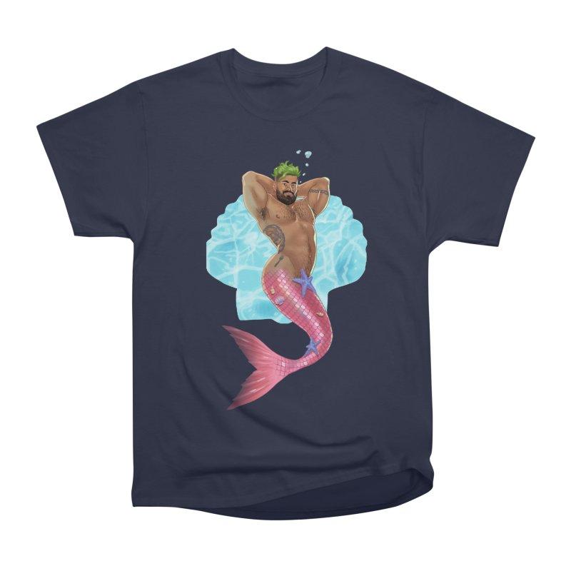 FISH TRADE Men's Heavyweight T-Shirt by Stephen Draws's Artist Shop