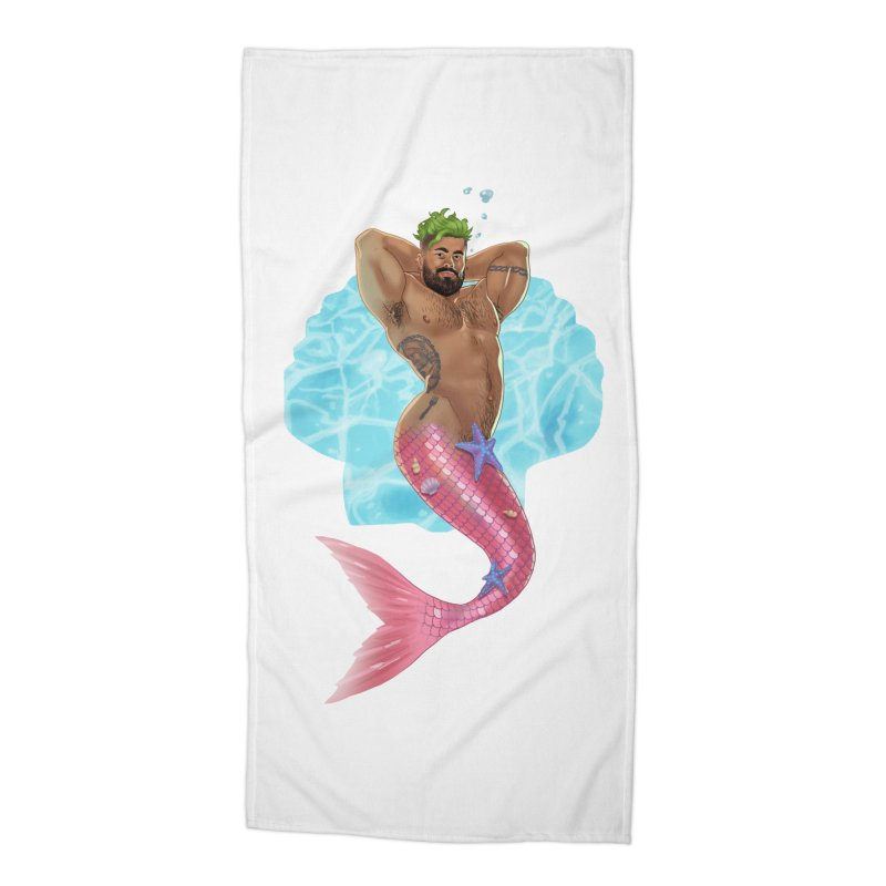 FISH TRADE Accessories Beach Towel by Stephen Draws's Artist Shop