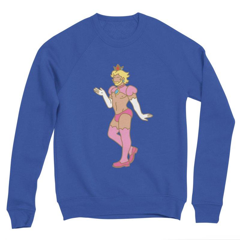 Prince Peach Men's Sponge Fleece Sweatshirt by Stephen Draws's Artist Shop