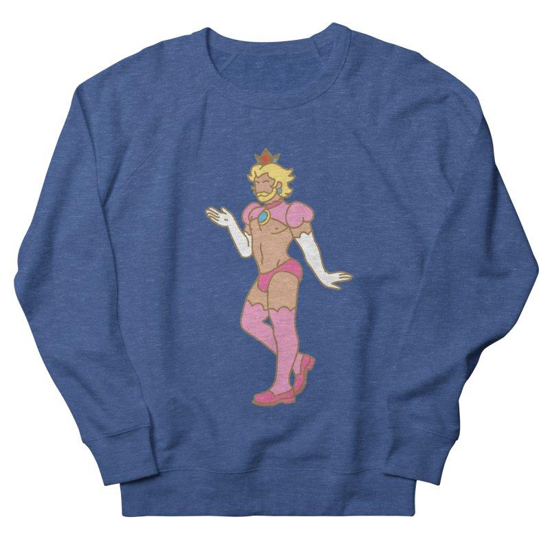 Prince Peach Men's Sweatshirt by Stephen Draws's Artist Shop