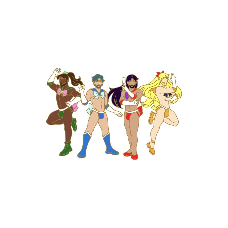 Inner Sailor Scouts by Stephen Draws's Artist Shop