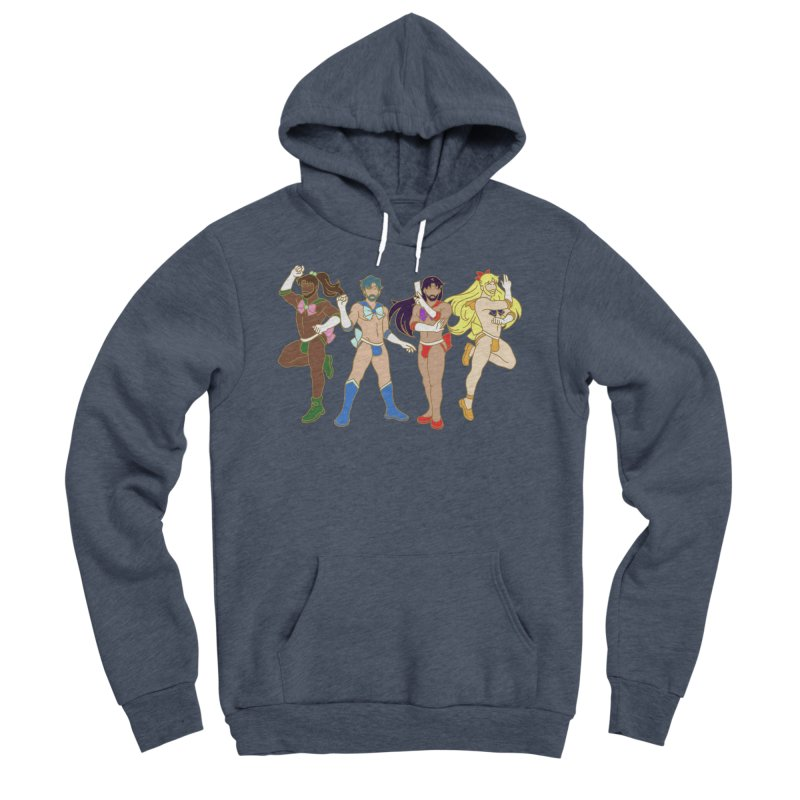 Inner Sailor Scouts Men's Sponge Fleece Pullover Hoody by Stephen Draws's Artist Shop
