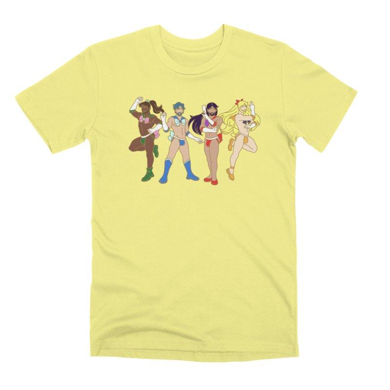 Inner Sailor Scouts Men's Premium T-Shirt by Stephen Draws's Artist Shop