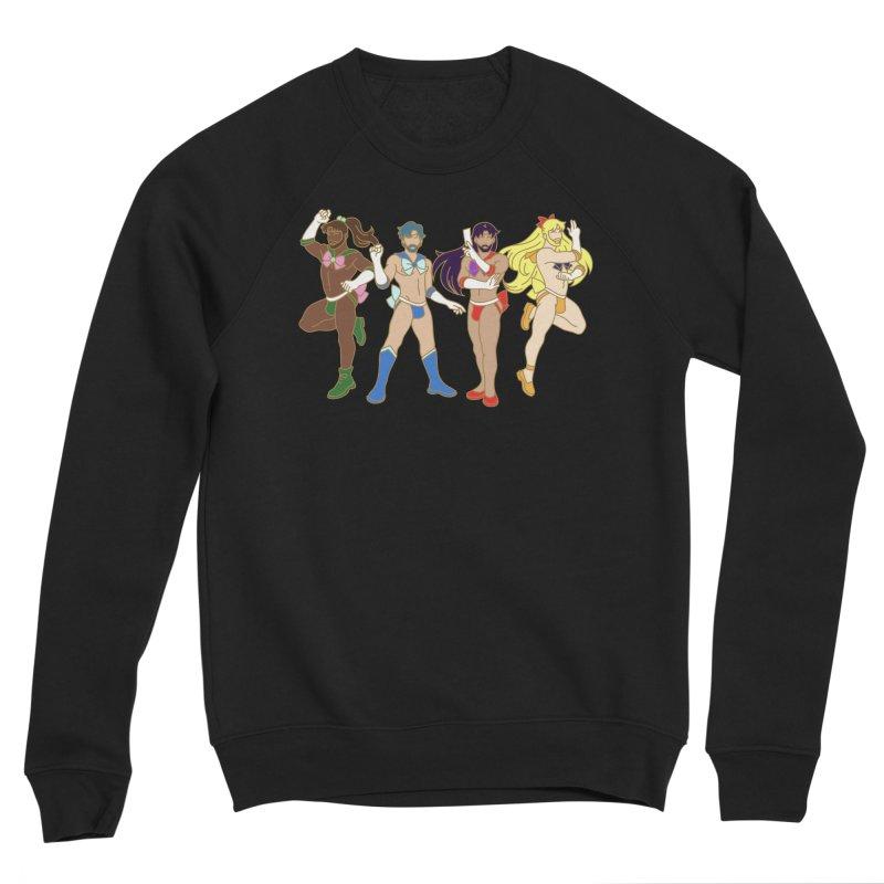 Inner Sailor Scouts Men's Sponge Fleece Sweatshirt by Stephen Draws's Artist Shop