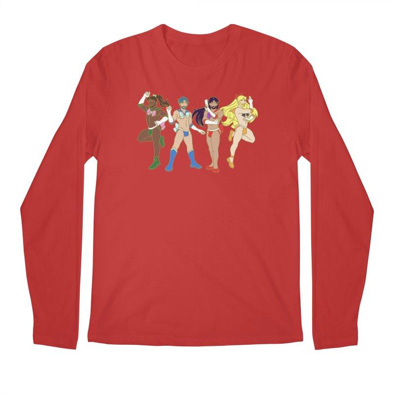 Inner Sailor Scouts Men's Regular Longsleeve T-Shirt by Stephen Draws's Artist Shop
