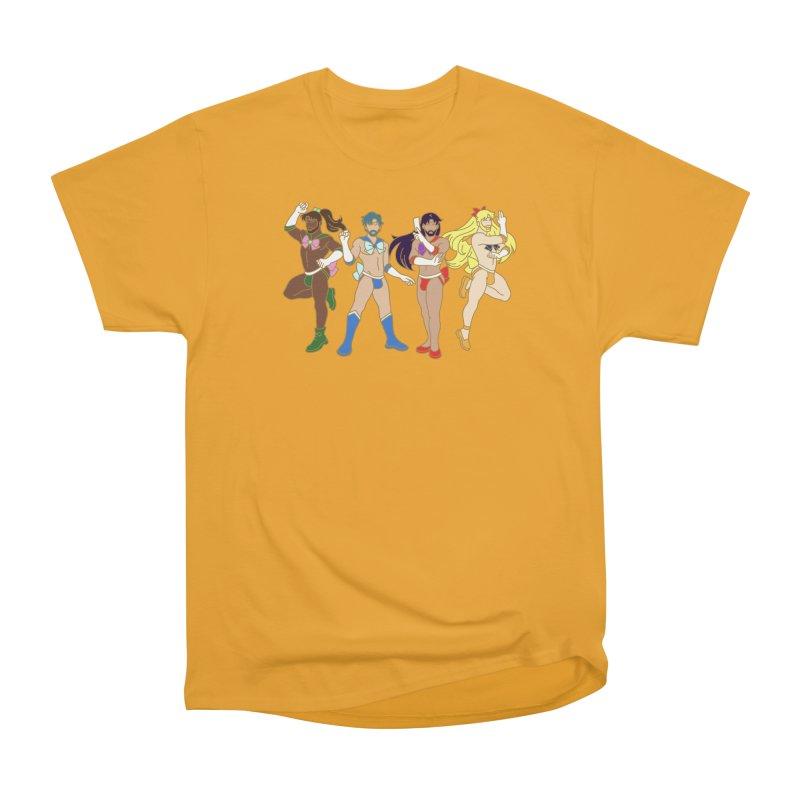 Inner Sailor Scouts Men's Heavyweight T-Shirt by Stephen Draws's Artist Shop