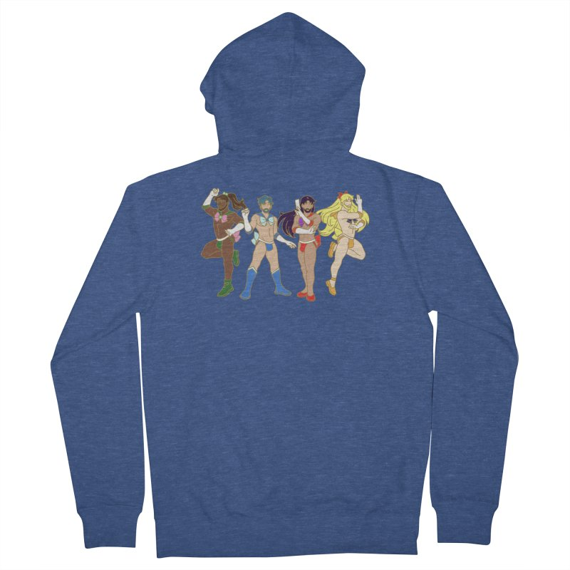Inner Sailor Scouts Men's French Terry Zip-Up Hoody by Stephen Draws's Artist Shop