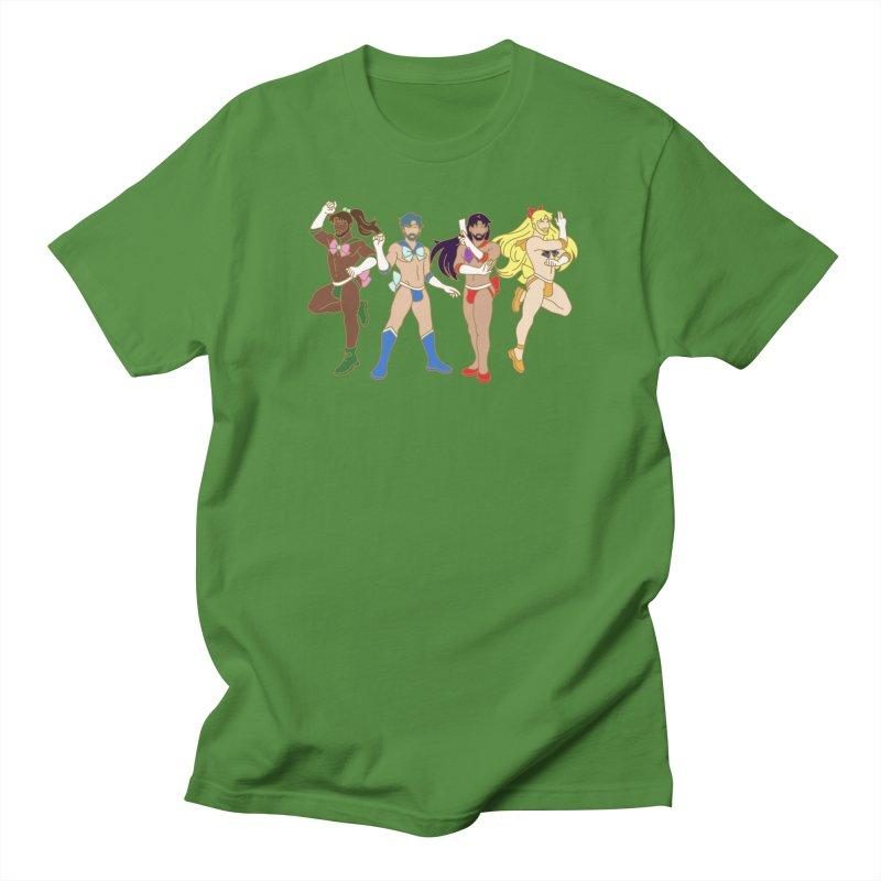 Inner Sailor Scouts Men's Regular T-Shirt by stephendraws's Artist Shop