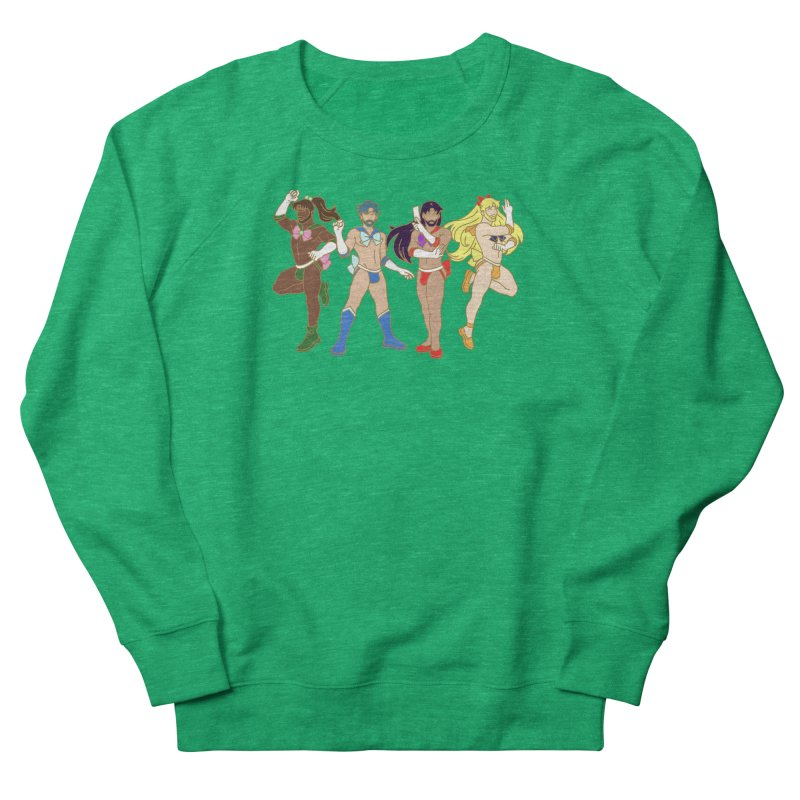 Inner Sailor Scouts Men's French Terry Sweatshirt by Stephen Draws's Artist Shop
