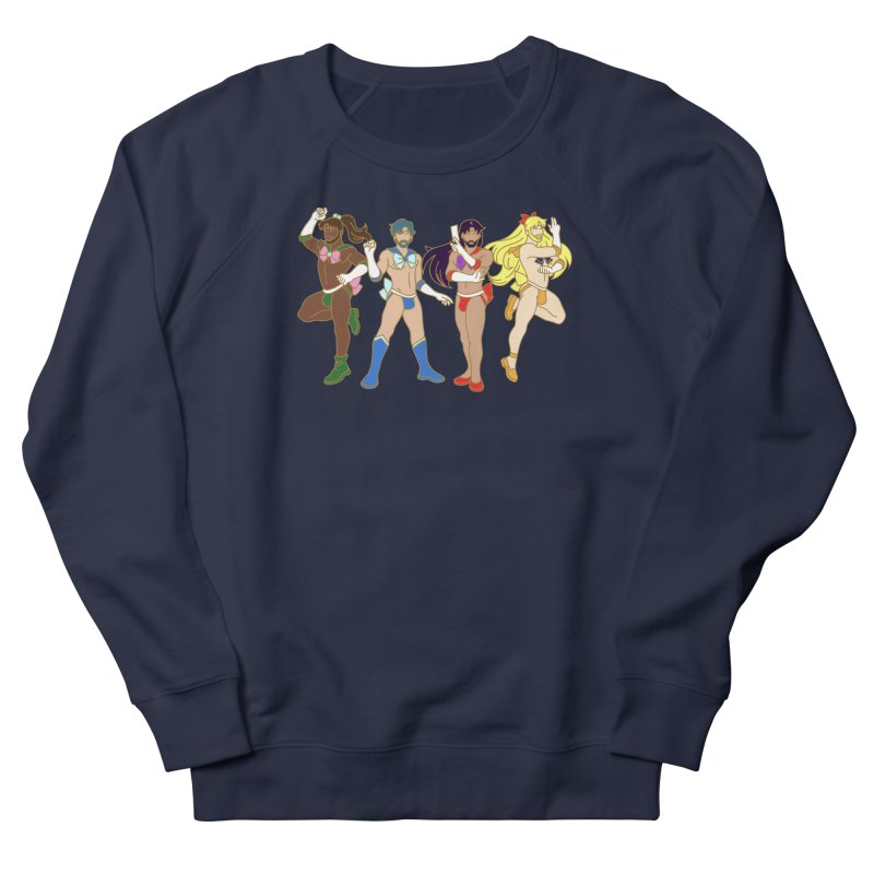 Inner Sailor Scouts Men's French Terry Sweatshirt by stephendraws's Artist Shop
