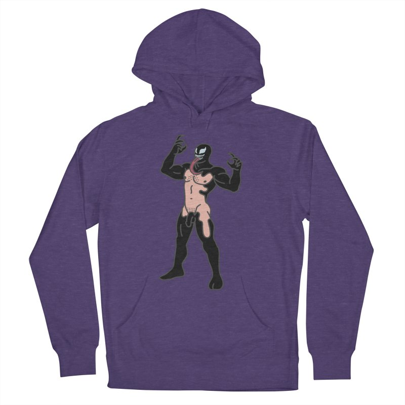 Venom Men's French Terry Pullover Hoody by Stephen Draws's Artist Shop