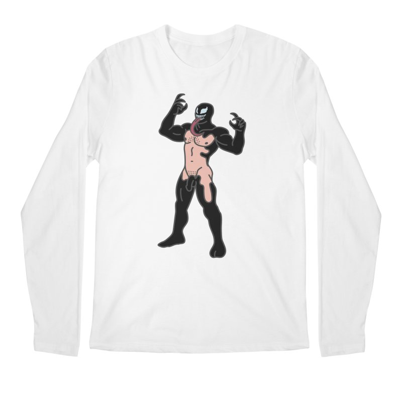 Venom Men's Regular Longsleeve T-Shirt by Stephen Draws's Artist Shop