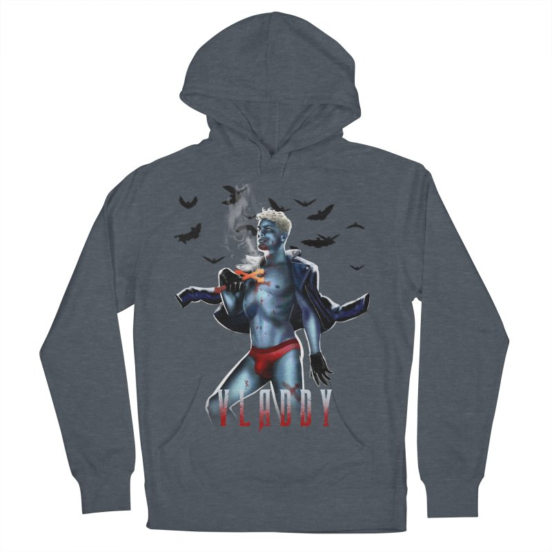 Vladdy Men's French Terry Pullover Hoody by Stephen Draws's Artist Shop