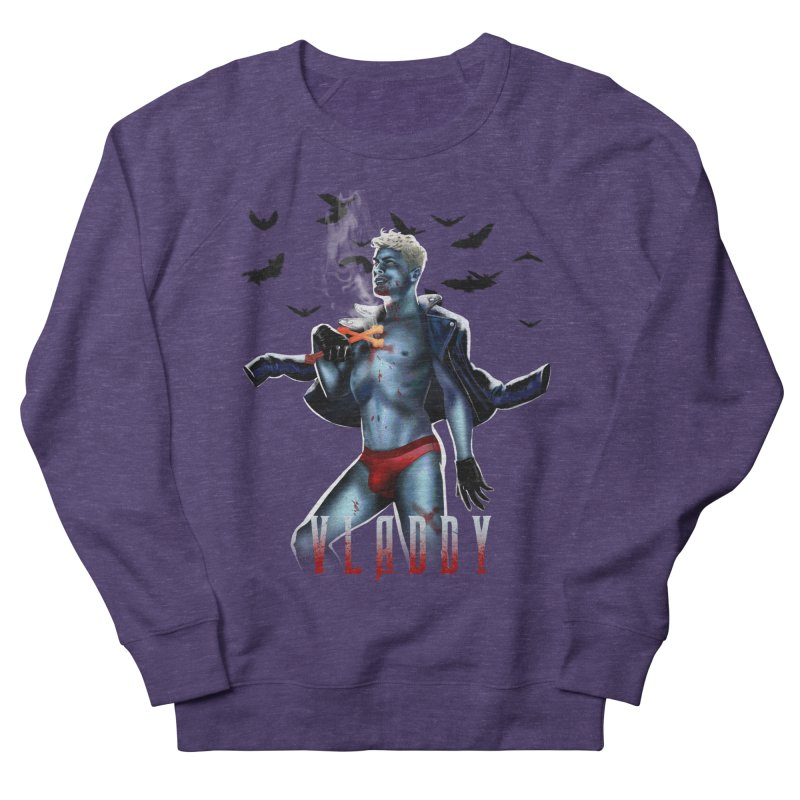 Vladdy Men's French Terry Sweatshirt by Stephen Draws's Artist Shop