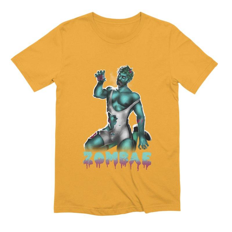 Zombae Men's Extra Soft T-Shirt by Stephen Draws's Artist Shop