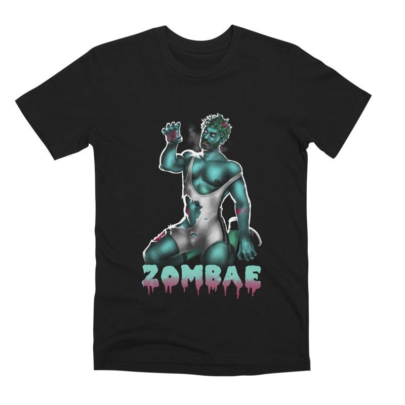 Zombae Men's Premium T-Shirt by Stephen Draws's Artist Shop