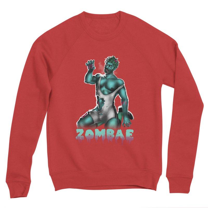 Zombae Men's Sponge Fleece Sweatshirt by Stephen Draws's Artist Shop