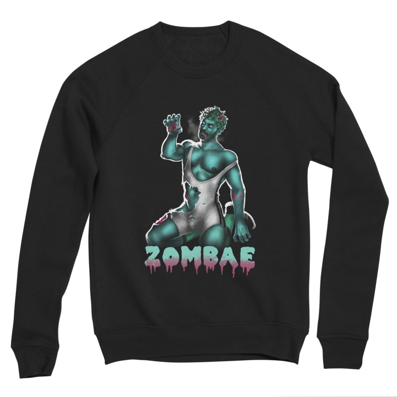 Zombae Men's Sponge Fleece Sweatshirt by Stephen Draws's Artist Shop