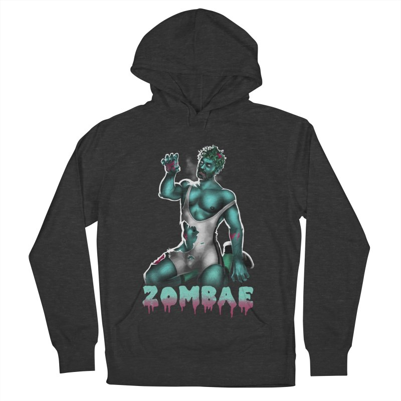 Zombae Men's French Terry Pullover Hoody by stephendraws's Artist Shop