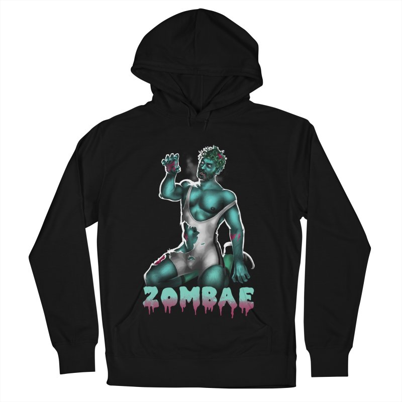 Zombae Men's French Terry Pullover Hoody by Stephen Draws's Artist Shop