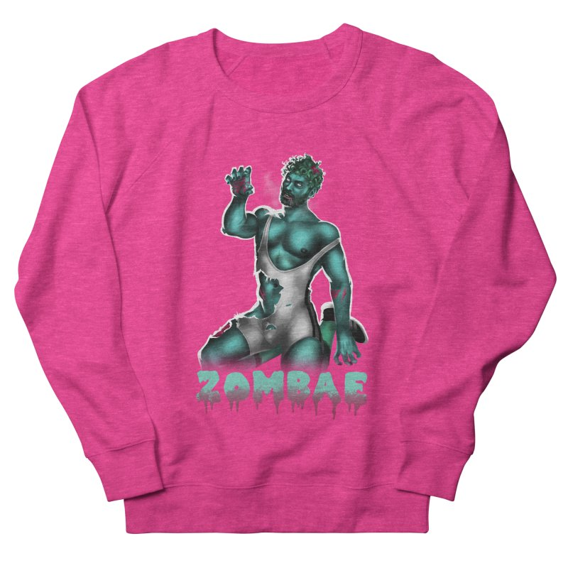 Zombae Men's French Terry Sweatshirt by Stephen Draws's Artist Shop