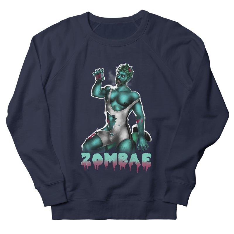 Zombae Men's French Terry Sweatshirt by stephendraws's Artist Shop