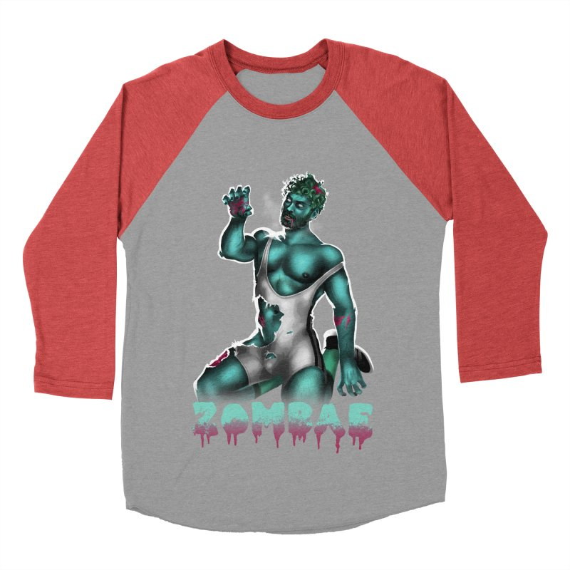 Zombae Men's Baseball Triblend Longsleeve T-Shirt by stephendraws's Artist Shop