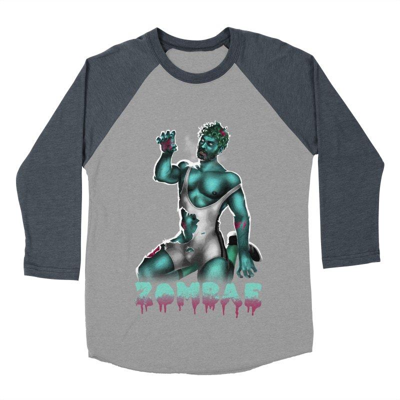 Zombae Men's Baseball Triblend Longsleeve T-Shirt by Stephen Draws's Artist Shop