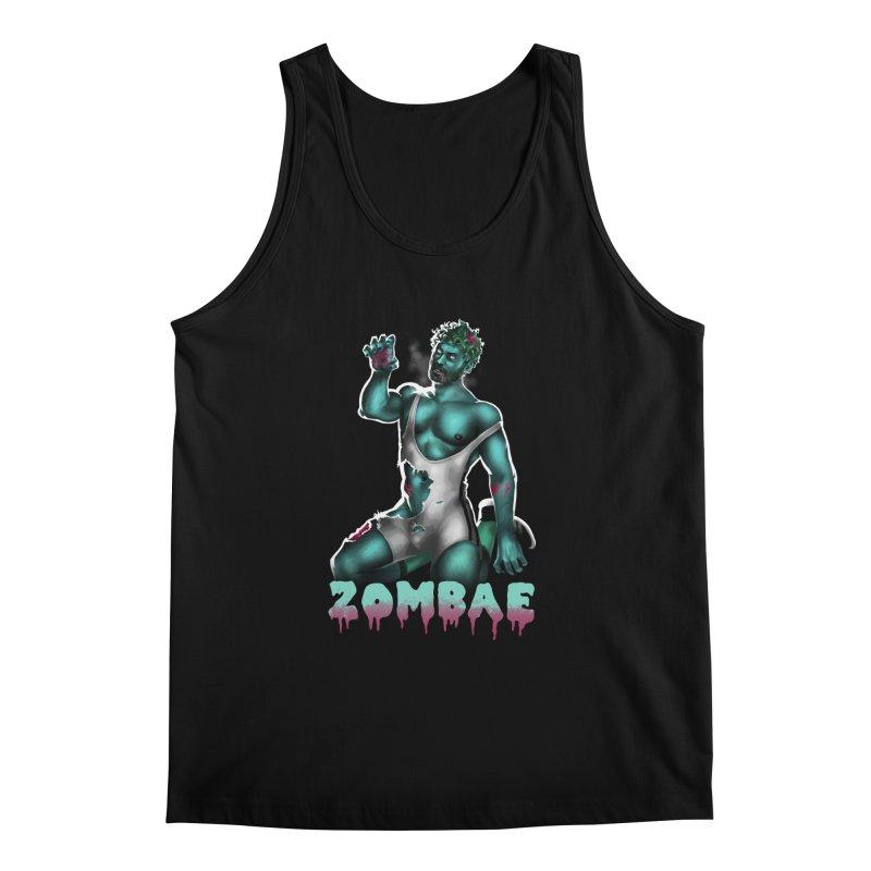 Zombae Men's Regular Tank by Stephen Draws's Artist Shop