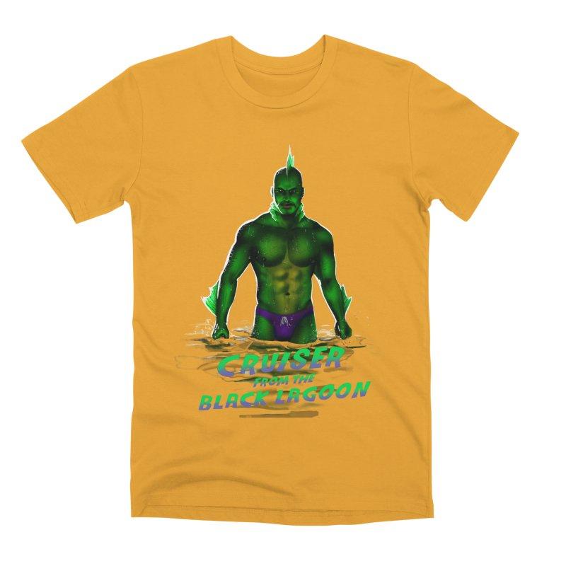 Cruiser From The Black Lagoon Men's Premium T-Shirt by Stephen Draws's Artist Shop
