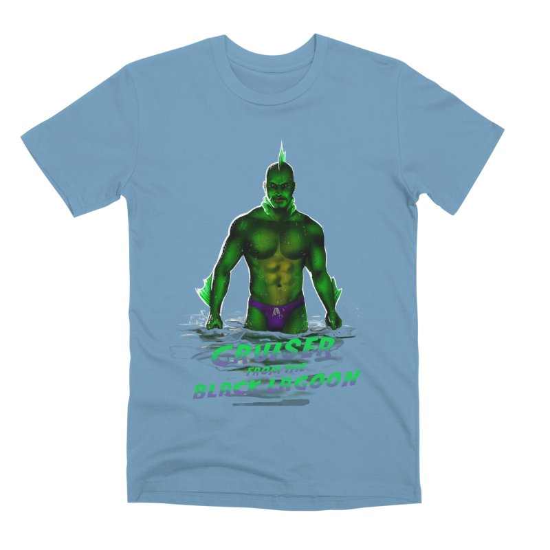 Cruiser From The Black Lagoon Men's Premium T-Shirt by stephendraws's Artist Shop