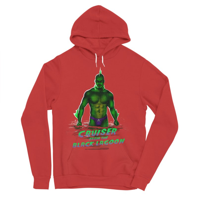 Cruiser From The Black Lagoon Men's Sponge Fleece Pullover Hoody by Stephen Draws's Artist Shop