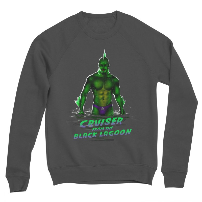 Cruiser From The Black Lagoon Men's Sponge Fleece Sweatshirt by stephendraws's Artist Shop