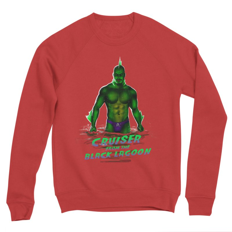 Cruiser From The Black Lagoon Men's Sponge Fleece Sweatshirt by Stephen Draws's Artist Shop